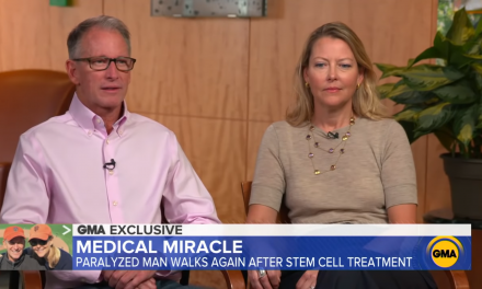 Paralyzed Man Walks after Stem Cell Therapy